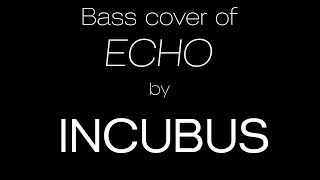 ECHO by Incubus - Bass Solo Arrangement