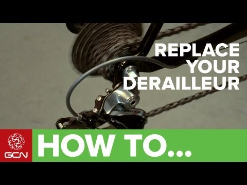 derailleur - Replacing and adjusting your rear derailleur to make sure that your gears are shifting correctly is a relatively easy task when you know how. Follow GCN on Y...