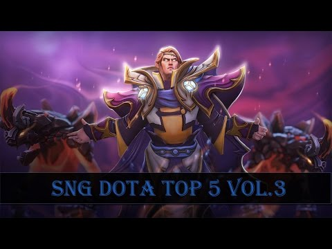 SNG Dota Top 5 vol.3 Rampage Compilation| by Gzar