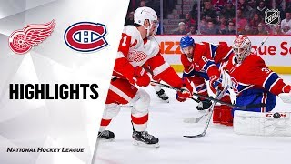 NHL Highlights | Red Wings @ Canadiens 12/14/19 by NHL