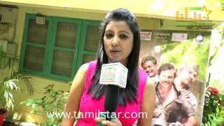 Nisha at Chennai Ungalai Anbudan Varaverkiradhu Movie Team Interview