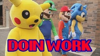 Eminem – Berzerk Parody (Doin Work – Super Smash Bros Rap)