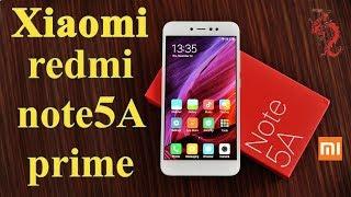 ВЗРОСЛЫЙ обзор XIAOMI REDMI NOTE 5A Prime //Доступный селфи фаблет от Xiaomi