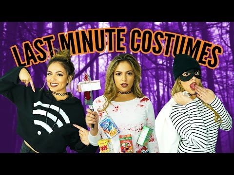 DIY Halloween Life Hacks! - Last Minute Costumes | Bethany Mota
