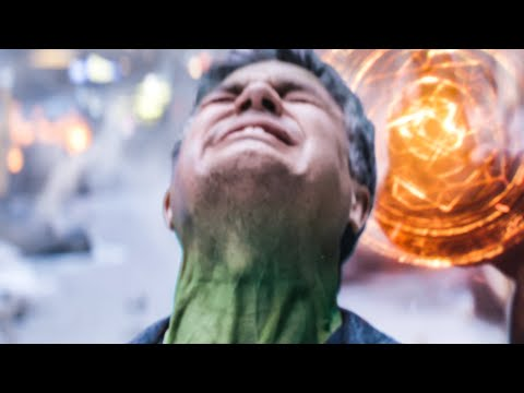 AVENGERS 3: INFINITY WAR 'Banner Tries To Be Hulk' Scene (2018) Movie Clip