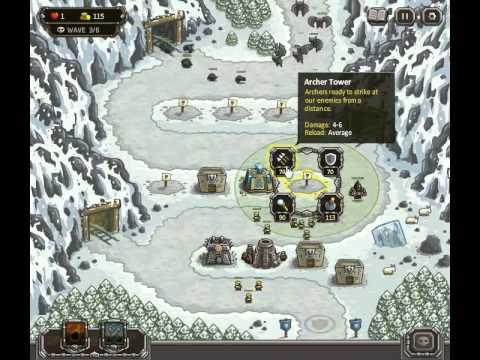 Kingdom Rush Level 7 Heroic Challenge Walkthrough Highspeed