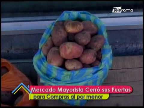 Mercado Mayoristas cerró puertas para compras al por menor