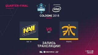 Na`Vi vs fnatic - ESL One Cologne 2018 - map1 - de_overpass [yXo, Enkanis]
