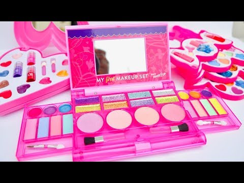 Beauty Cosmetic Kits My First MakeUp Set LipBalm And Nail Polish