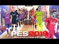 Pes 2019 Demo Gameplay My First Game barcelona Liverpoo