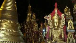 Pindaya Myanmar  City new picture : Myanmar- Shwe Oo Min Natural Cave Pagoda in Pindaya.