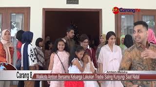 Video Walikota Ambon Bersama Keluarga Lakukan Tradisi Saling Kunjungi Saat Natal MP3, 3GP, MP4, WEBM, AVI, FLV Juni 2019
