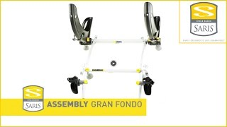 Video Saris Gran Fondo bike carrier - Assembly - rear mounted bicycle rack MP3, 3GP, MP4, WEBM, AVI, FLV Agustus 2017