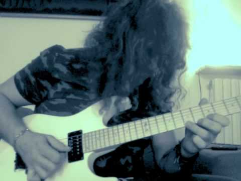 Roberto Vanni: Blues Scale Sequences For Heavy Metal Purposes.. (Regular Fingerings!!)