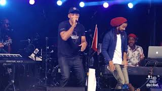 Will Smith performs on Stage with KES