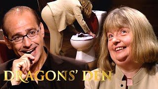 Video The Perfect Product For Disgusting Public Toilets | Dragons' Den MP3, 3GP, MP4, WEBM, AVI, FLV Agustus 2019