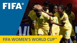 Canada 2015: You don't want to miss this surprising six-goal battle between the Cameroonians and Ecuadorians. FIFA Women's...