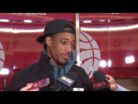 Video: DeRozan praises defence on Porzingis in win over Knicks