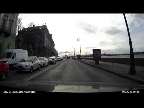 Авария в Санкт Перетрбурге 03 04 2014