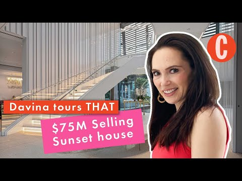 Davina Potratz tours *that* $75 million Selling Sunset house | Cosmopolitan UK