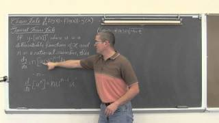 Chain Rule For Derivatives&General Power Rule