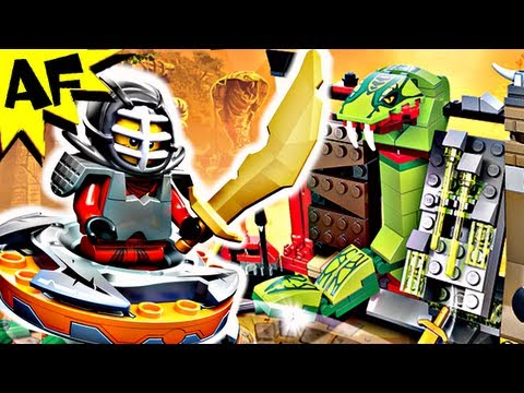 Vidéo LEGO Ninjago 9558 : Set d'entraînement