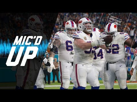 Video: Buffalo Bills Mic'd Up vs. Dolphins Ending Longest Playoff Drought in NFL | NFL Sound FX