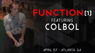 Colbol Joins Wizzrobe for Function(1) this April in Atlanta [trailer]