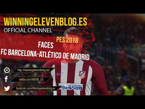 PES 2018 | FACES | FC BARCELONA-ATLÉTICO DE MADRID