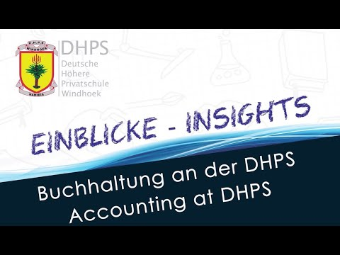 DHPS Virtual Expo 2021: Buchhaltung - Accounting