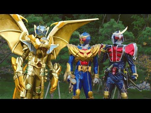 Rồng Vàng Vô Cực vs Chiến Thần Tối Cao - Phim Siêu Nhân Hiệp Sĩ Mặt Nạ Mới Nhất - Thời lượng: 1:06:08.