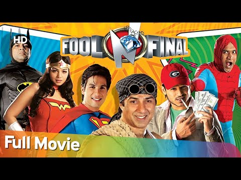Fool N Final - Superhit Comedy Movie -  Sunny Deol - Shahid Kapoor - Paresh Rawal - Johnny Lever