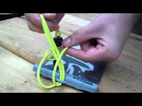 Aquapac - how to attach a lanyard