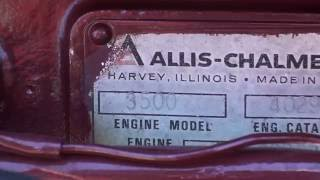 Harvey (IL) United States  city images : Made in Harvey, Illinois, Allis-Chalmers Engine on 7030 Tractor