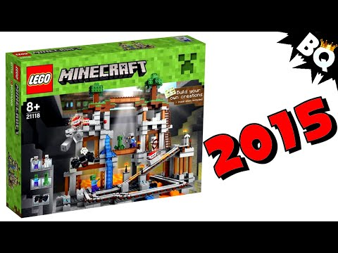 set - 2015 LEGO Minecraft Minifigure Scale Set Pictures Revealed. SUBSCRIBE to BrickQueen: http://bit.ly/1j3VMDo Check out more MINECRAFT videos here: http://bit.ly/1rEKhSR 2015 Minifigure Scale...