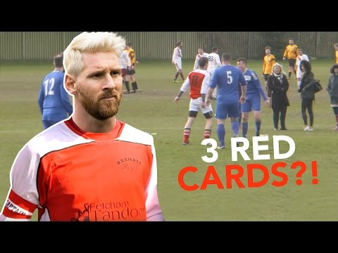 3 Red Cards in 3 Games?! | Sunday League Messi