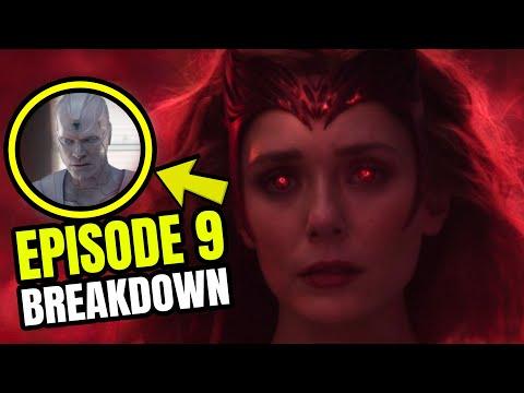 WANDAVISION EPISODE 9 FINALE EASTER EGG BREAKDOWN Post Credit Dr Strange Secret Invasion Explained