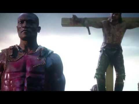 Gannicus death -Spartacus War of the Damned