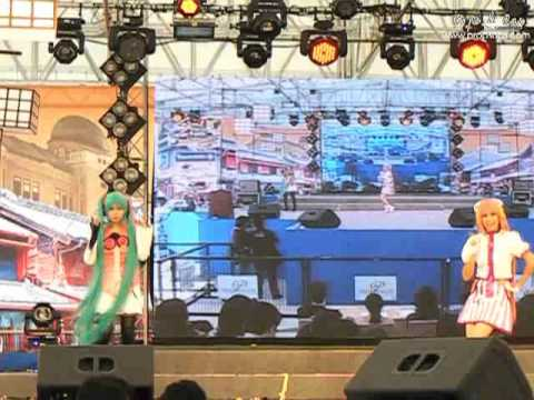 Japan Festa in Bangkok 2012 by Mainichi – Team 5 – Vocaloid Project Diva