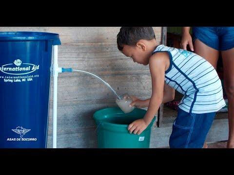 Alma lavada e água limpa