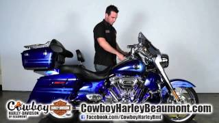 6. 2013 Harley-Davidson CVO Road King for sale @ Cowboy Harley Beaumont