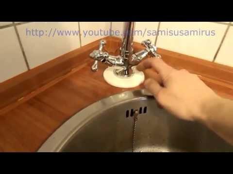 Установка смесителя в кухне своими руками видео