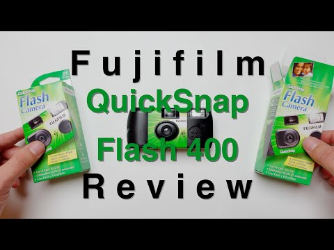 Fujifilm QuickSnap 400 Disposable Camera For Street Photography