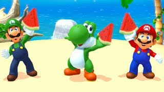 The Yoshi Board from the amiibo party mode of Mario Party 10 for the Wii U.-My Twitter https://twitter.com/Typhlosion4Pres
