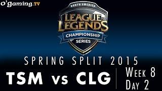 LCS NA Spring 2015 - W8D2 - TSM vs CLG