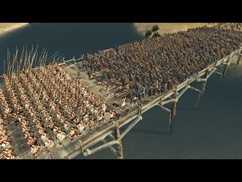 300 SPARTANS Vs 6000 BEST EGYPTIAN UNITS - Total War ROME 2