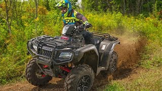2. Full REVIEW: 2017 Honda Foreman Rubicon 500 Deluxe