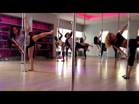 Pole Dance Class Routine to Wicked Games by The Weeknd, Flirty Girl Fitness
