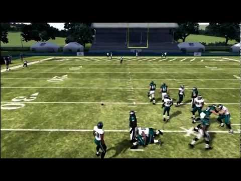 madden 12 tips - In this video ill show you how to make a less than average to an average QB play much better with a little trick that wont take you long to learn.