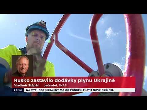 Proč Gazprom zastavil dodávky plynu na Ukrajinu